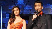 Alia Bhatt's surprising revelation about Karan Johar on #NoFilterNeha