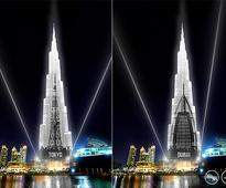 Burj Khalifa facade could act as canvas to showcase world famous skyscraper images