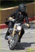 Brad Pitt attends Born-Free Vintage Chopper and Classic Cycle Show