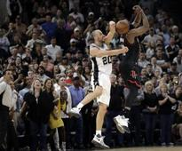 NBA playoffs: Manu Ginobili thwarts Rockets with stunning block, helps Spurs take 3-2 lead