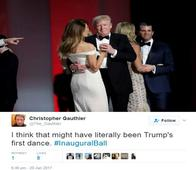 Twitter Hilariously Trolls Trump's First Dance As President With First Lady Melanie