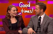 La La Land Stars Emma Stone & Ryan Gosling Spill On Her Dirty Dancing 'Meltdown' & His Child Dancing Superiority! Watch!