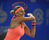 Wuhan Open: Petra Kvitova defeats Simona Halep, sets up final against Dominika Cibulkova