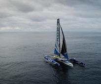 Around the world in 42 days: Frenchman smashes record for solo sailing