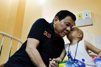 Video, Photos Showing Duterte's Visit To Cancer Patients Go Viral!