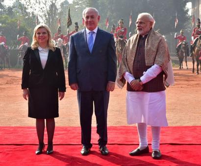 Modi woos Bibi; Gadkari woos Iran
