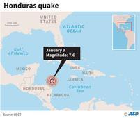 Major quake hits Honduras; triggers tsunami warning