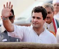 CM Akhilesh Yadav blows his own trumpet: Rahul Gandhi