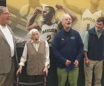 Bill Murray Sings 'Happy Birthday' to 94-Year-Old at Basketball Game