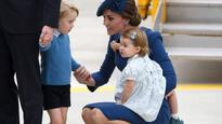 Prince William, Kate Middleton bring children to Canada for first official trip