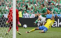 Ireland own goal hands Sweden opening draw