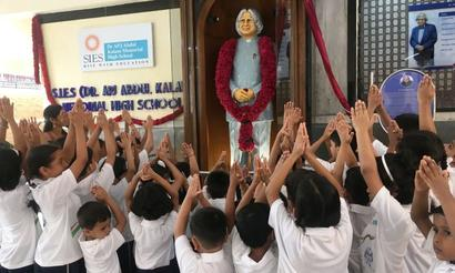 Mumbai school named after Dr Kalam on his birth anniversary