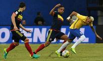 Neymar leads Brazil to 2-1 win