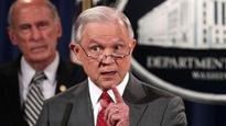 Russia leaks undermining our ability to protect nation: US Attorney General Jeff Sessions attacks press