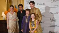 'Kuch Kuch Hota Hai' says Twitter when Shah Rukh Khan and Canadian Prime Minister Justin Trudeau came together