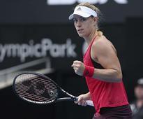 Sydney International: Angelique Kerber storms into semis after thumping win over Dominika Cibulkova