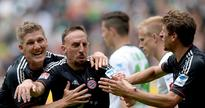 Bayern fight back at Gladbach