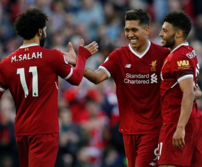 EPL PIX: Manchester City on verge of title, Salah on target for Liverpool