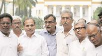 Alliance to continue, say Surjya Kanta Mishra, Adhir Chowdhury at Raj Bhavan
