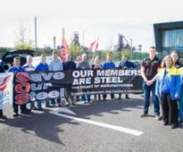 Ospreys show support for Tata Steel employees