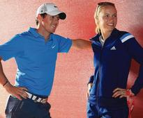 Caroline Wozniacki sizzles in bikini golf picture after Rory McIlroy jokes about losing...