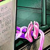 Woman dead, daughter seriously injured after being pushed off train, NHRC seeks report from Ghaziabad Police