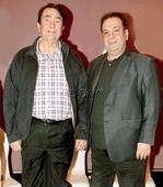 Randhir and Rajeev Kapoor inaugurate an art event