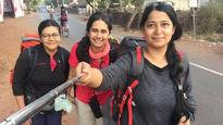 Meet the trio of women who are hitchhiking from Mumbai to Goa