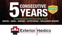 Exterior Medics Wins 2015 Angie's List Super Service Award for the 5th Consecutive Year