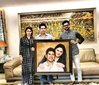 This artist created something special for Sachin Tendulkar and wife Anjali