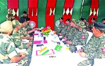 BSF, Pak Rangers hold flag-meeting in Samba