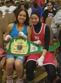 A Muslim girl wasn't allowed box in a hijab, so her opponent shared victory with her