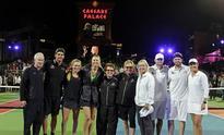 Sharapova happy to be back at  Vegas charity event