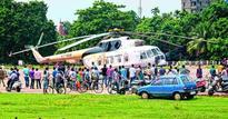 'Snag' grounds chopper