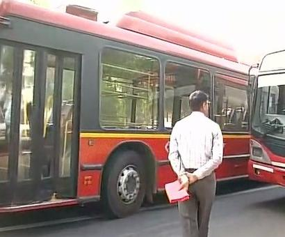 MPs snub Kejriwal's special buses on Day 1 of Parliament