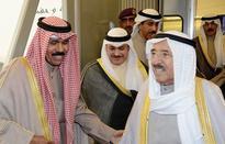 Amir back home after GCC summit