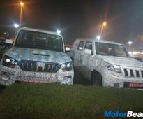 Mahindra TUV Long Wheelbase Spied On Test