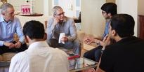 Tim Cook seeks Siddhivinayak's blessings and hobnobs with corporates and bollywood during his maiden trip