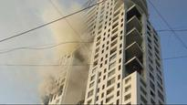 Fire breaks out in multi storied building in South Mumbai