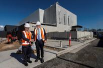 IAEA chief witnesses progress of Australian medicine plant