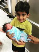 Murali Vijay, Nikita welcome third child