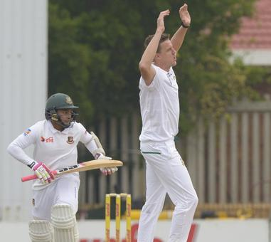 South Africa need seven wickets to win opening Test