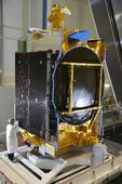 SES 10 telecom satellite in Florida for launch on reused SpaceX rocket