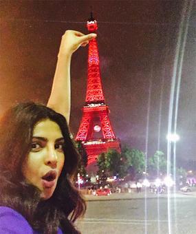 Priyanka takes Quantico to Paris!