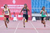 Fed Cup Athletics: Dutee scorches the track