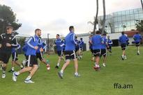 Armenian National Football Team arrives in USA