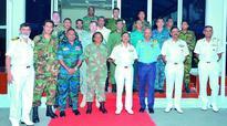 Defence course officers visit Visakhapatnam