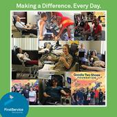 FirstService Residential Associates Make a Difference in the Local...
