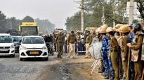Karni Sena members pelt stones, vandalise cars outside theatre