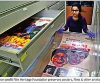 25,000 artefacts in this archive on Indian cinema